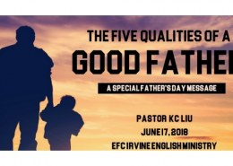 What are the qualities of a good father?