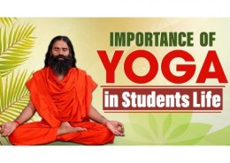 What is the importance of yoga in students life?
