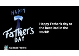 What is a smart way to make your father happier this Father's Day?