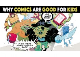 Why are comics good for Children?