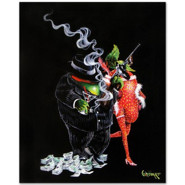 """""""gangster Love"""" Pop Art - Michael Godard 168606"""