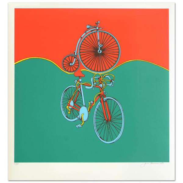"""bicycle"" Abstract - Jack Brusca 211804"
