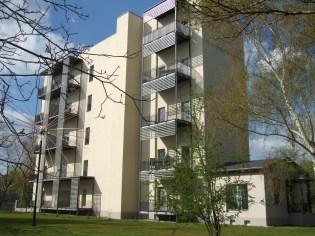 Balkonfassade modern Südseite