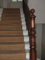 historische Treppenpfosten