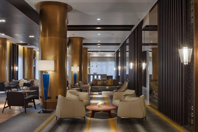 The Westin Doha Hotel  Spa  The Restaurants  Qatar Eating