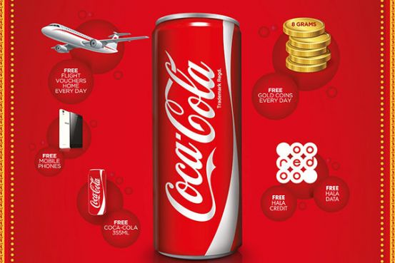 CocaCola Middle East launches the Win Gold Everyday