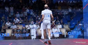 Day SIX, Quarters : Rosner, Momen & Coll in three as Marwan ousts Mohamed