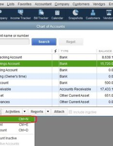 How to add  new account the chart of accounts in quickbooks also set up qbalance rh