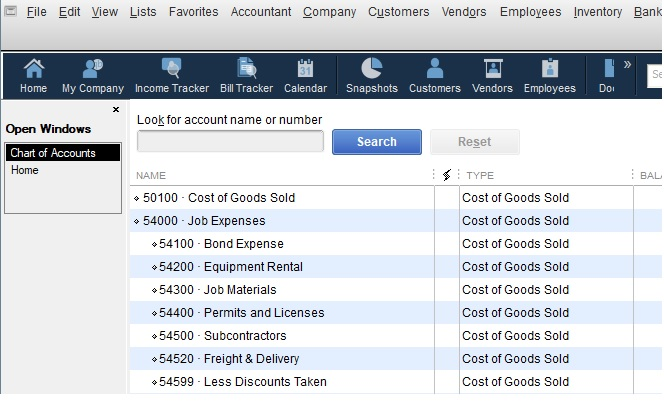 How To Set Up A Chart Of Accounts In QuickBooks