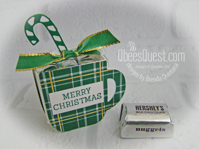 Cup of Christmas Hershey's Nugget Holder