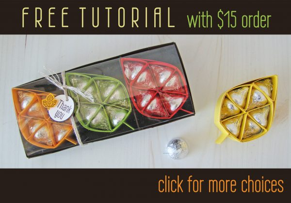 Hershey's Leaf Tutorial Free with an Order