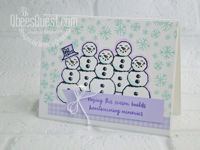 Many Snowmen Card