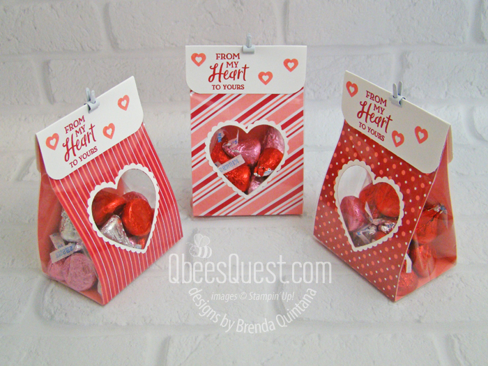 Heart Window Treat Bags