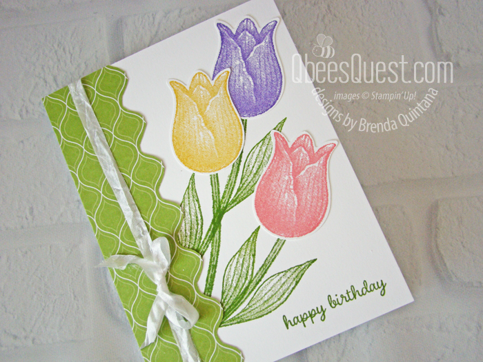Timeless Tulips Birthday Card