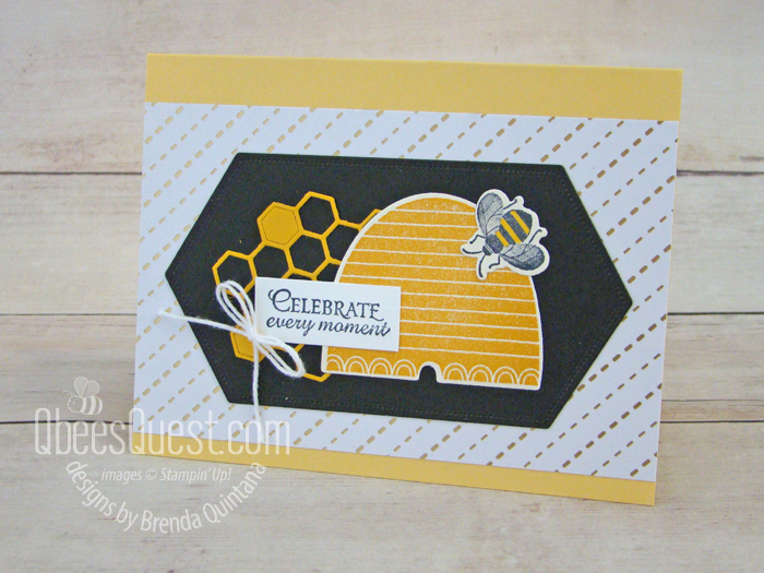 Honey Bee Card