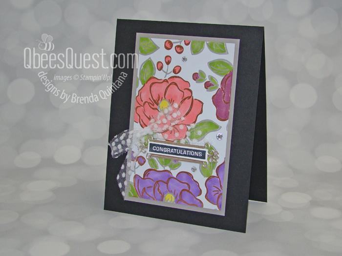 Flowering Foils Card