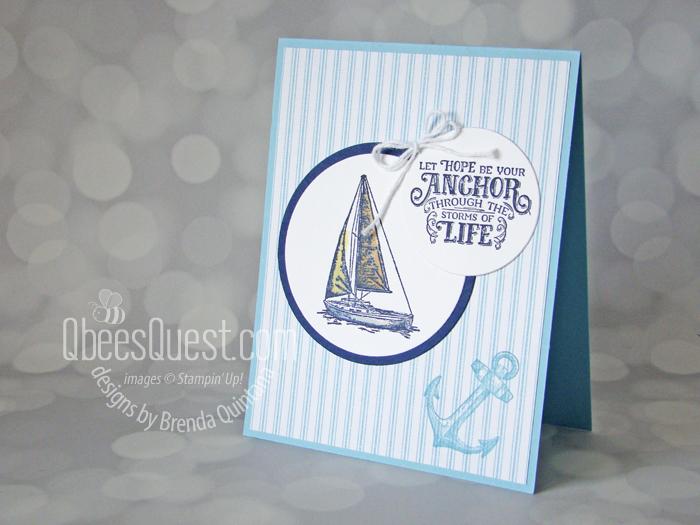 Sailing Home Card