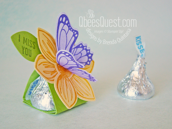 Butterfly Hershey's Kiss Tent