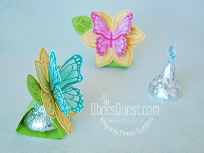 Butterfly Hershey's Kiss Tents