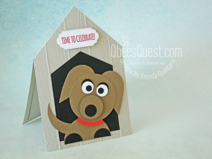 Dog House Card