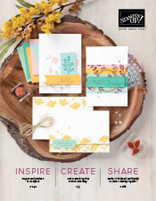 2020-2021 Stampin Up Annual Catalog Cover