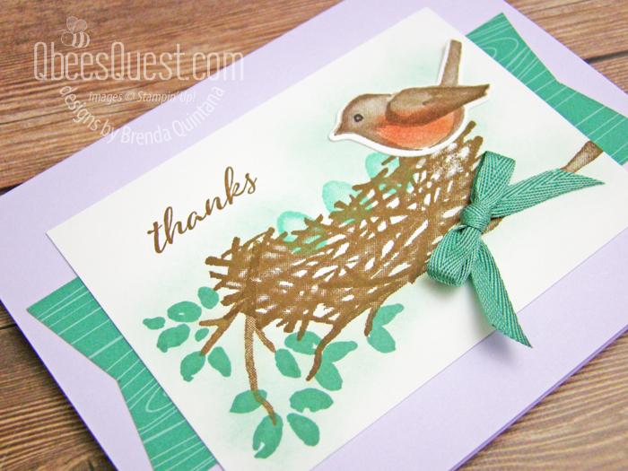 Birds & Branches Card
