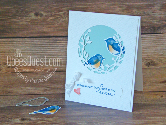 Stampin' Up Birds & Branches Card