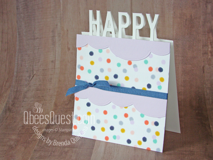 Happy Cake Card