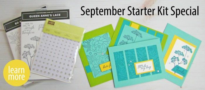 Stampin' Up 2020 Sept Starter Kit Special