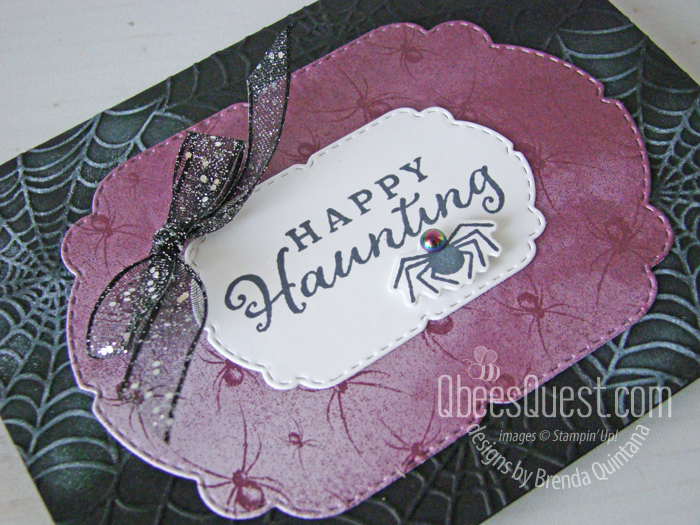 Stampin' Up Happy Haunting Card