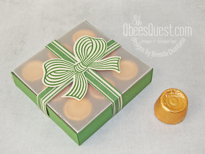 Stampin' Up Rolos Gift Box with the Gift Wrapped Bundle