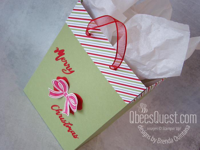 Easy 2 Sheet Gift Bags Stampin' Up