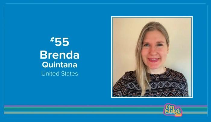 Stampin' Up 2020 Global Top 100 Brenda Quintana