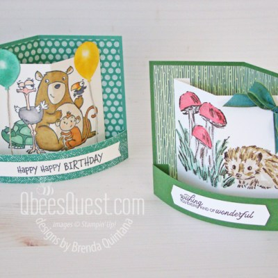 Stampin' Up Bendy Cards