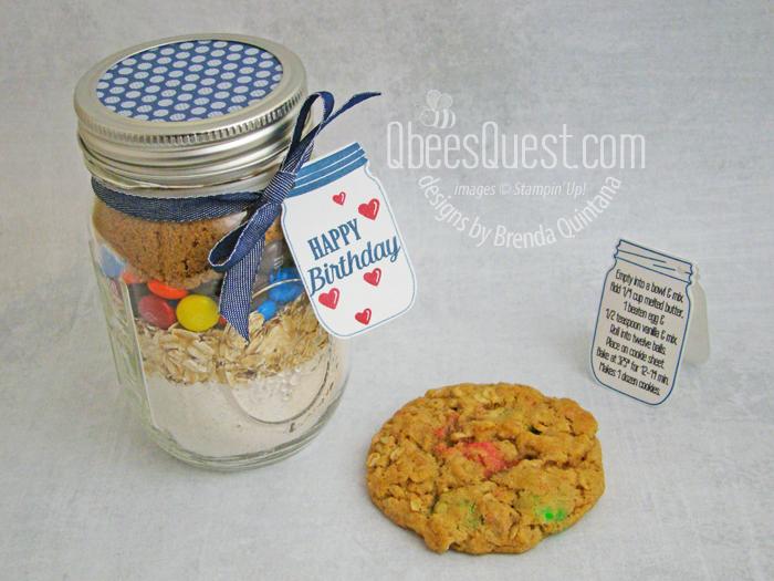 Cookie Mix Jar Gift