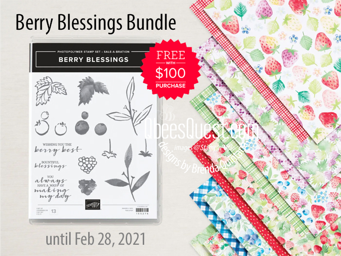 Stampin' Up Berry Blessings Bundle