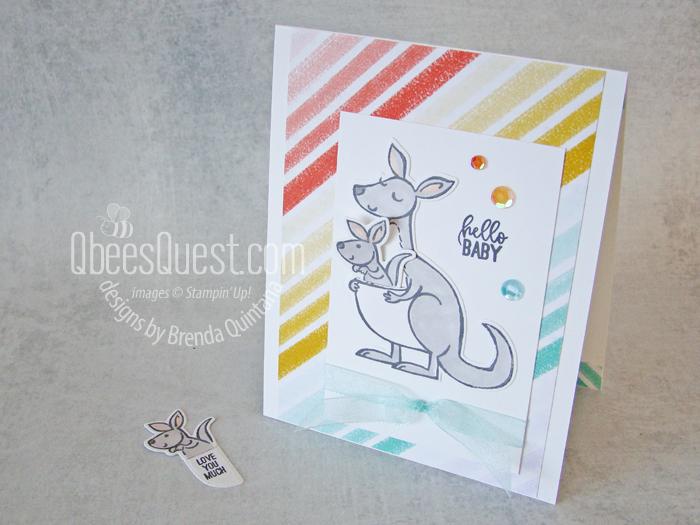 Stampin' Up Kangaroo & Company Card