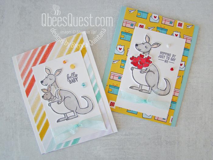 Stampin' Up Kangaroo & Company Cards