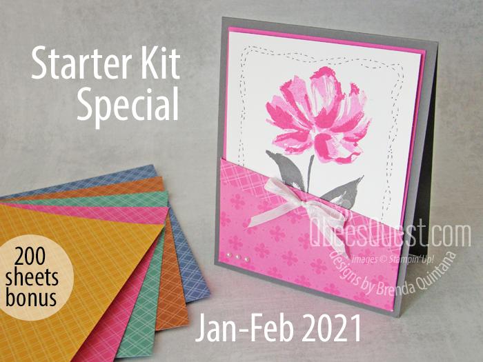 Stampin' Up Starter Kit Special Jan 2021