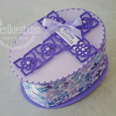 Stampin' Up Elegant Easter Cross Box