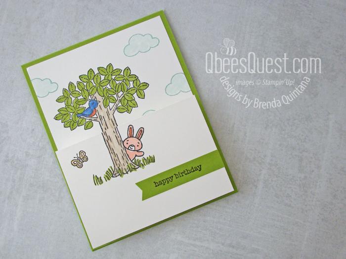Woodland Wonder Fancy Fold Card