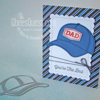 Stampin' Up Hats Off Father's Day Card