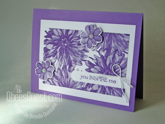 Stampin' Up Delicate Dahlias Card