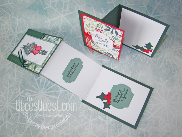 Bee Stampers Team Night Cards