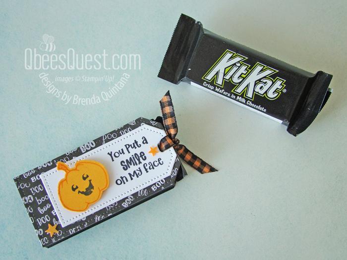 Stampin' Up Tailor Made Tags Kit Kat Sliders