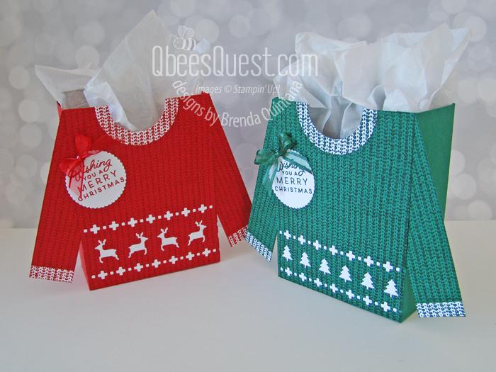 Stampin' Up Knit Together Gift Bag