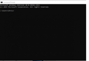 The Windws 10 Command Prompt