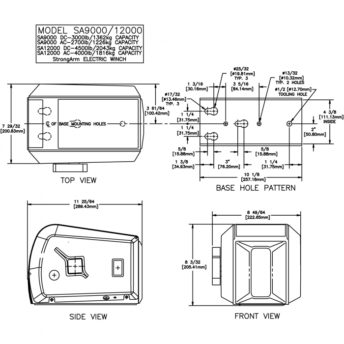 Pierce Winch Wiring Diagram. Superwinch Parts Diagram