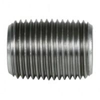 "Galvanized Pipe Nipple - 3/8"" Close | QC Supply"