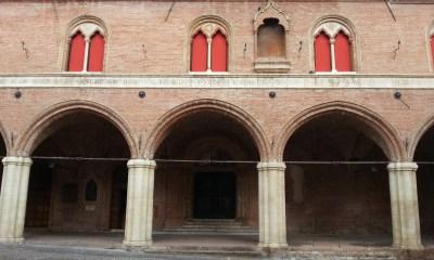 L'esterno della pinacoteca fabrianese